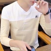 男士短袖恤新款圆领宽松衣服夏季韩版潮流纯棉大码夏装体恤男装t