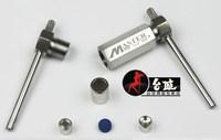 Кожаный инструмент для ремонта головы Напорный головной наконечник для головы и компрессора 10 и 11 мм