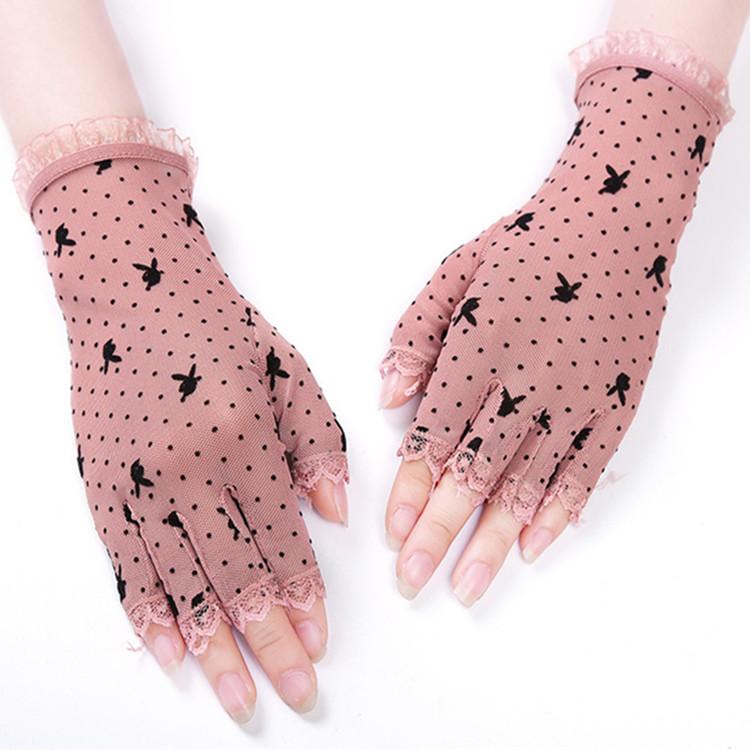 Женские перчатки без пальцев Артикул 612137975478