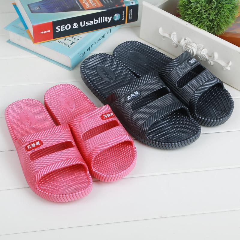 厂价促销高弹吹气拖鞋 家居时尚防滑浴室内外拖鞋沙滩情侣休闲鞋