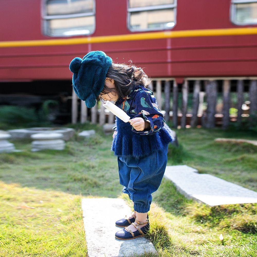 10-15新券宝宝童装女童春秋装2019新款卡通儿童三件套洋气女孩时髦时尚套装