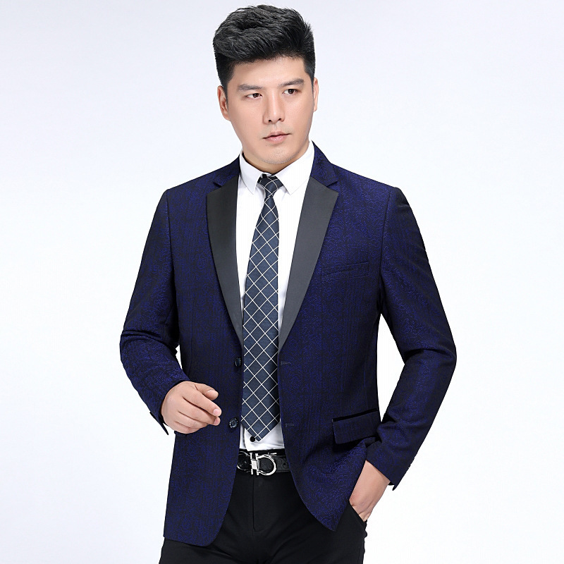 Crazy grab brand autumn and winter wool single Western business suit mens small suit casual coat dads routine