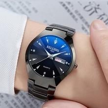 手表男士石英表防水新款中学生韩版潮流概念情侣女表全自动机械表