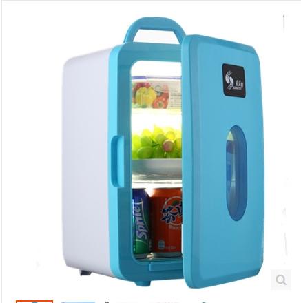 京东个人迷你小电冰箱单门微型冷冻柜车家两用冷暖箱二人世界(用1元券)