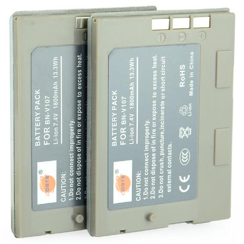 蒂森特BN-V107U950MAHGR-DX95K包邮电池套装 JVC数码相机电池V107