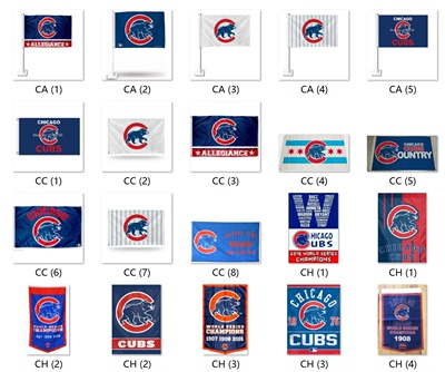 Foreign Trade Supply Chicago Cubs Flag NFL Chicago Cubs Flag Amazon WISH EBAY Hot