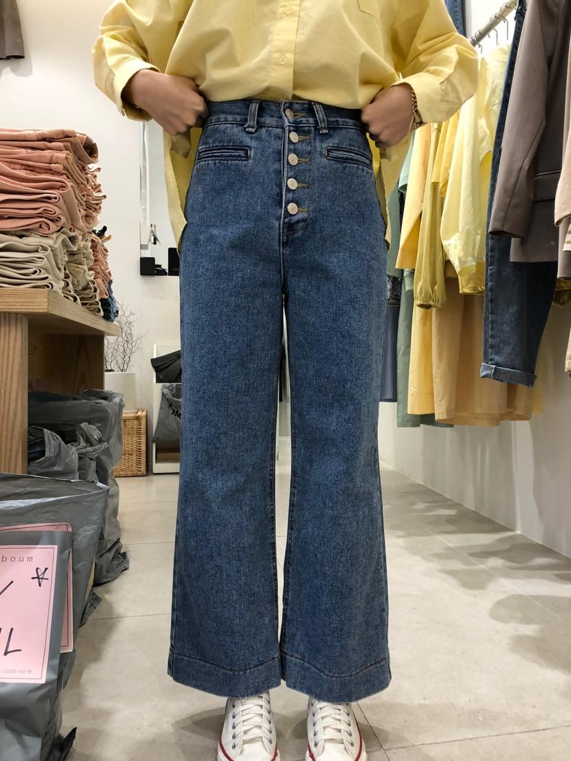 八0213韩国正品东大门春夏装新款韩版运动牛仔裤区1272187