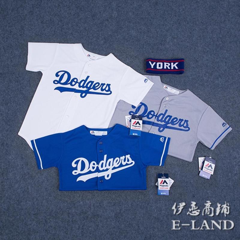Love Love Shop MLB Доджерс Бейсбол Доджерс Хип-хоп детские отцовство для влюбленной пары Втулка короткий рукав Футболки