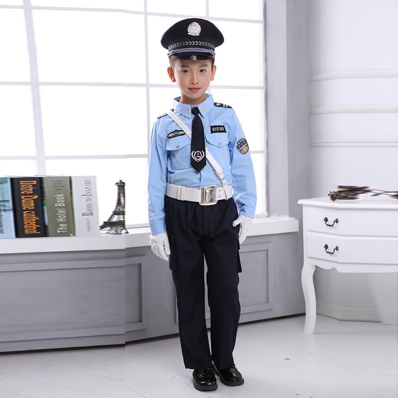 子供服の交通警察服はカスタマイズできます。