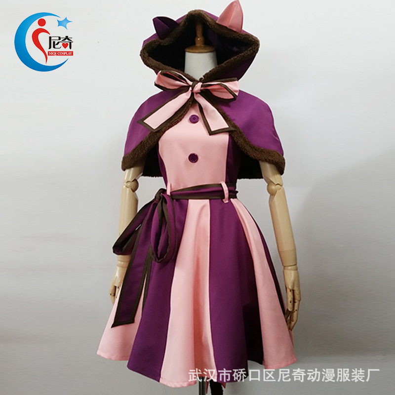 Disney Alice in Wonderland grinning cat cos costume Cosplay animation costume role play