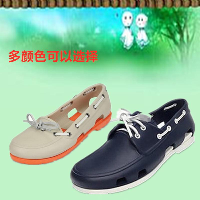 新款cross洞洞鞋波特帆船鞋男鞋女鞋沙滩鞋情侣鞋海滩鞋系带鞋