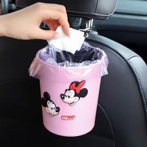 领1元券购买汽车内用创意垃圾桶车门收纳垃圾袋