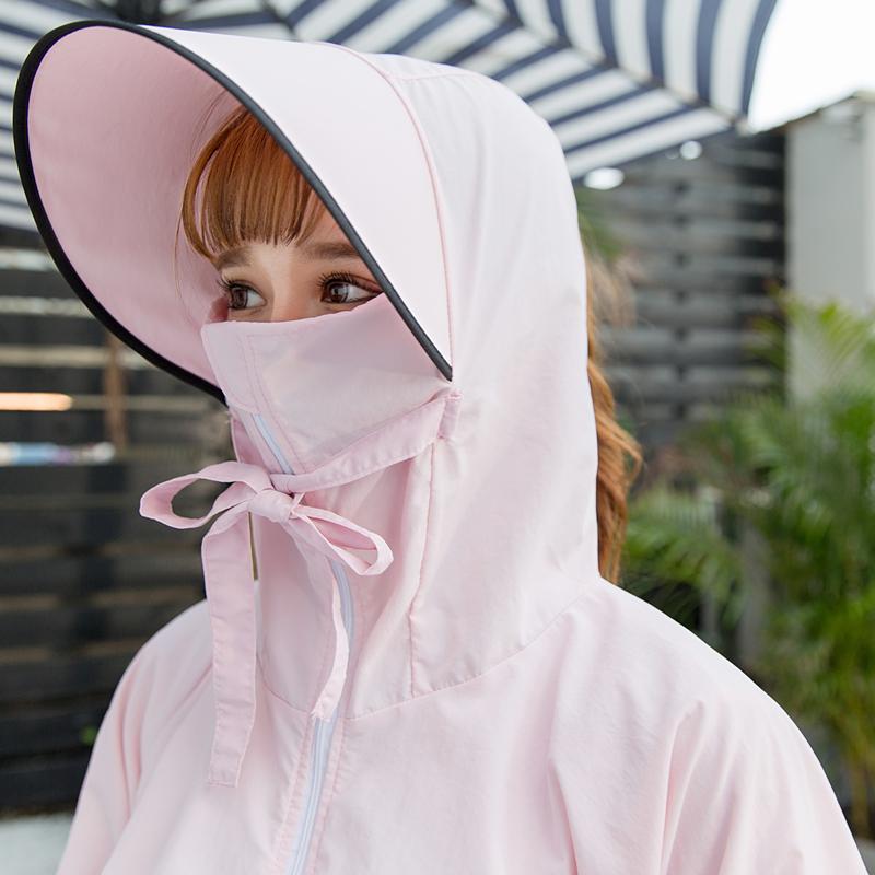 Шапка Женское лето корейская версия Wild UV открытый солнце шляпа солнцезащитный крем крышка лицо путешествие дикое солнце шапка