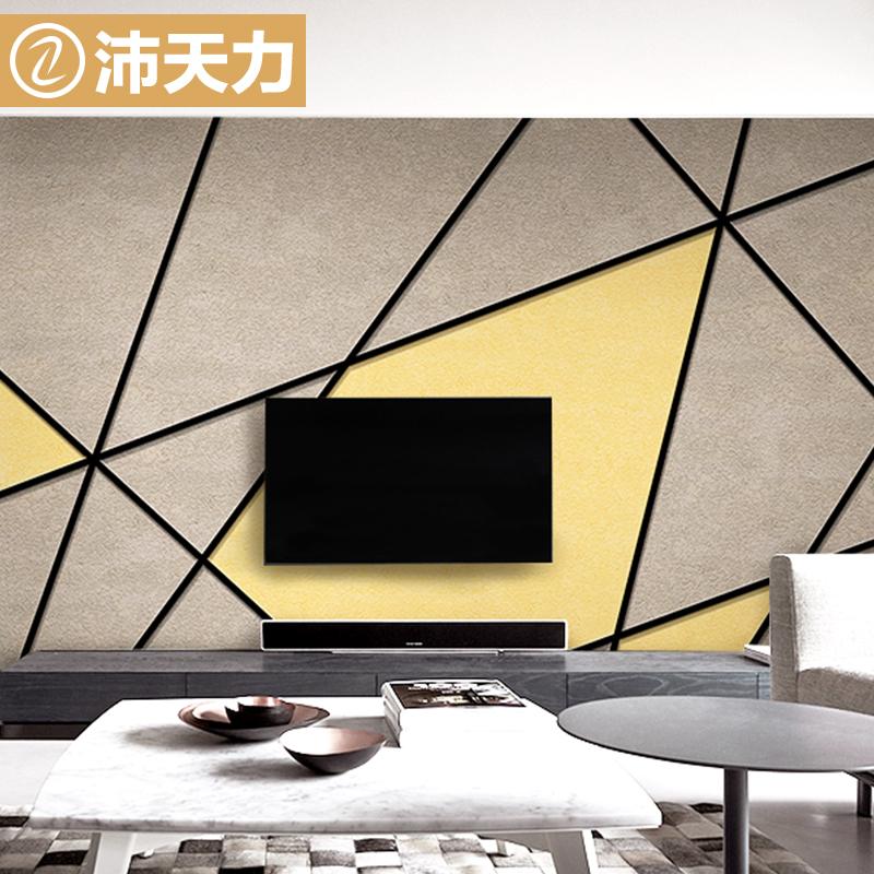 定制壁画3d立体电视背景墙纸卧室客厅影视墙几何个性壁纸无缝墙布