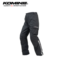 Komine Japan autumn and winter motorcycle riding cover pants quick release pants with knee protection side waist zipper pk-916