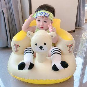 宝宝充气沙发训练多功能神器学坐椅