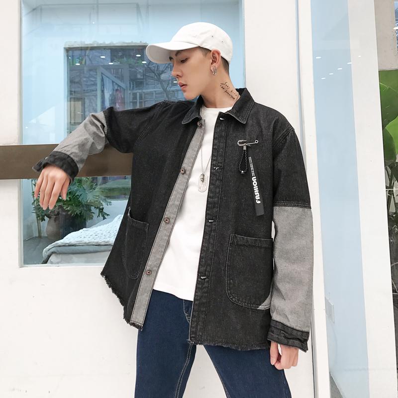 【实拍.视频.实拍.控85以上】19春牛仔外套外套男#780#杨杨家