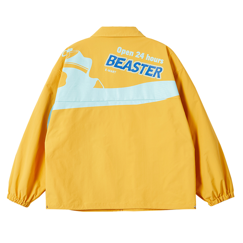 beaster小恶魔鬼脸翻领机能风夹克评价好不好