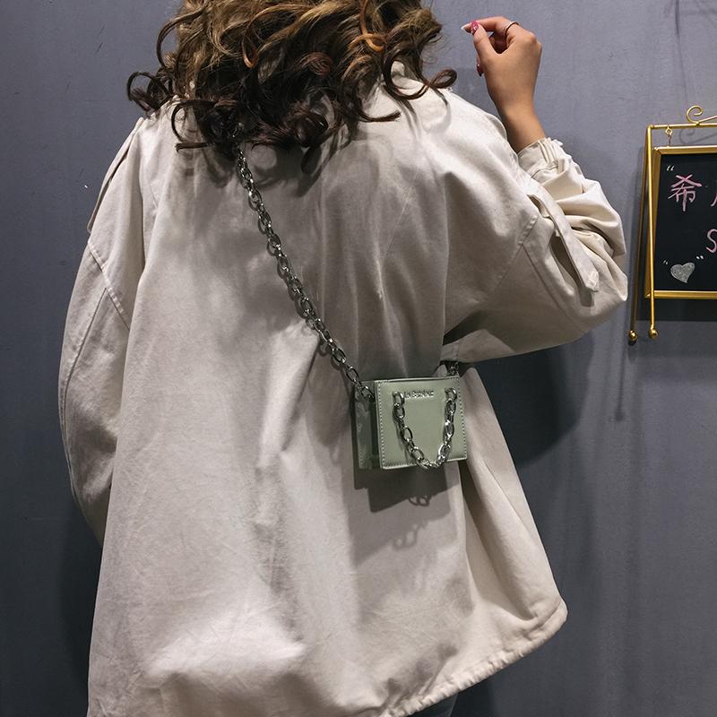 限30000张券上新迷你小包包女包2019新款韩版时尚单肩包链条手提包斜挎小方包