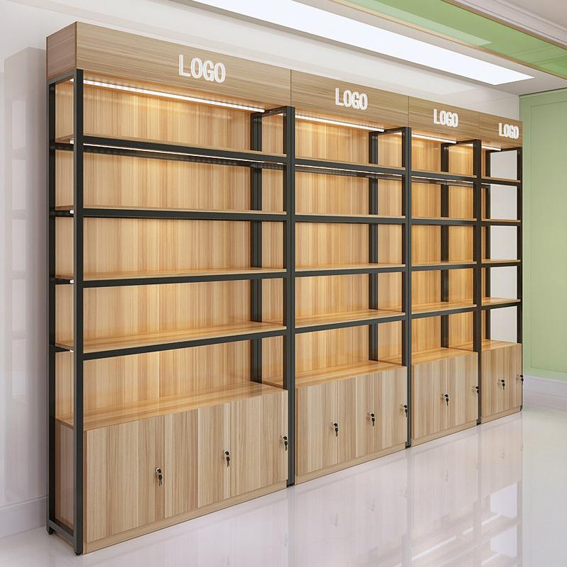 货架展示架陈列柜自由组合母婴店货柜产品展架陈列架化妆品展示柜