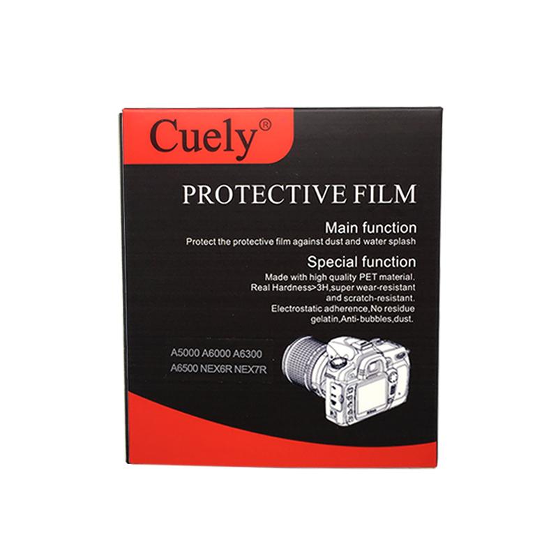 CUELY экран камеры закаленной пленки A7RA6500 200D 100D 70D 80D 7DII D7200 5D4