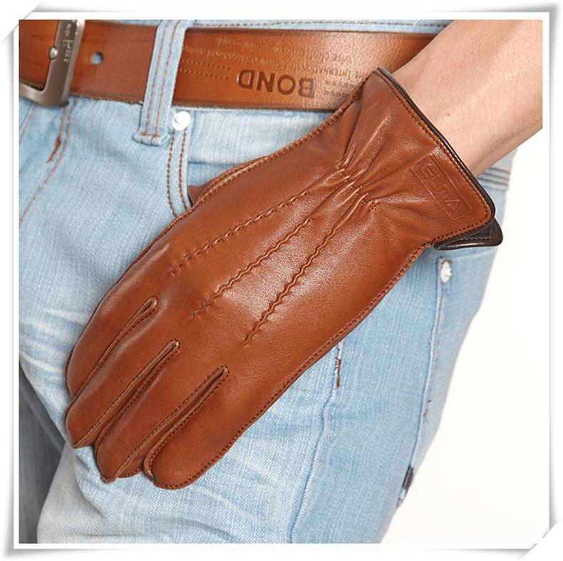 Мужские перчатки из овчины Артикул 546304691745
