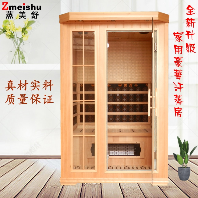 Steam Meishu single person double electric stone far infrared fumigation steam engine sweat steaming room household whole body sweat steamer