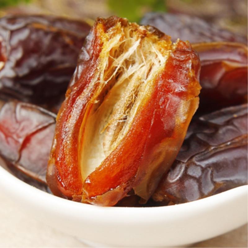 特大椰枣特级沙特阿拉伯原产产伊拉克黄金黑椰枣阿拉伯大蜜枣干