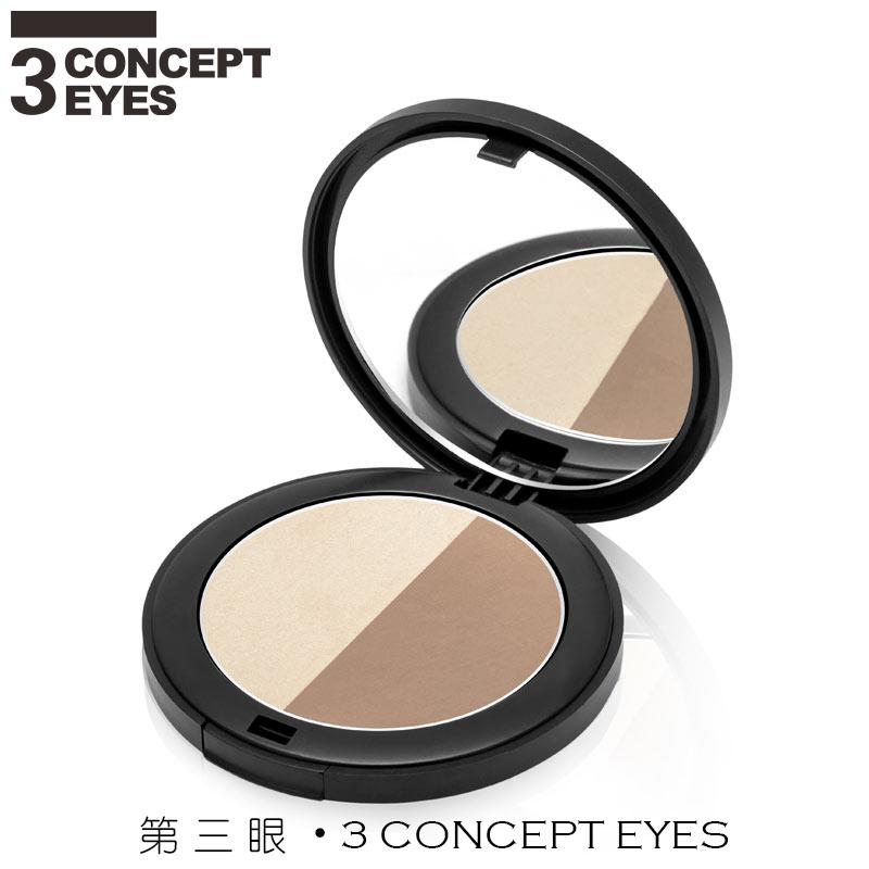 3 concept eyes 3ce定妆粉饼修容修颜高光粉鼻影侧影暗影瘦脸遮瑕
