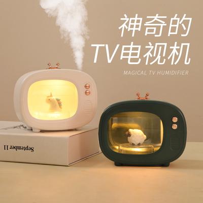 ins creative night light girl heart dream net red bedside romantic bedroom sleep charging atmosphere cute table lamp