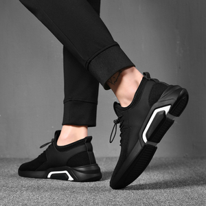 男鞋夏季透气运动休闲鞋男韩版潮流懒人鞋子英伦百搭潮鞋男士板鞋