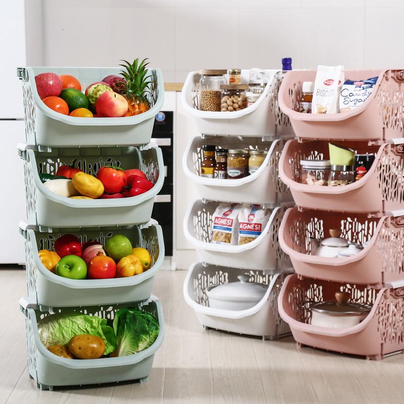 厨房落地多层置物架菜篮浴室收纳架储物架子蔬菜置物架浴室置物架