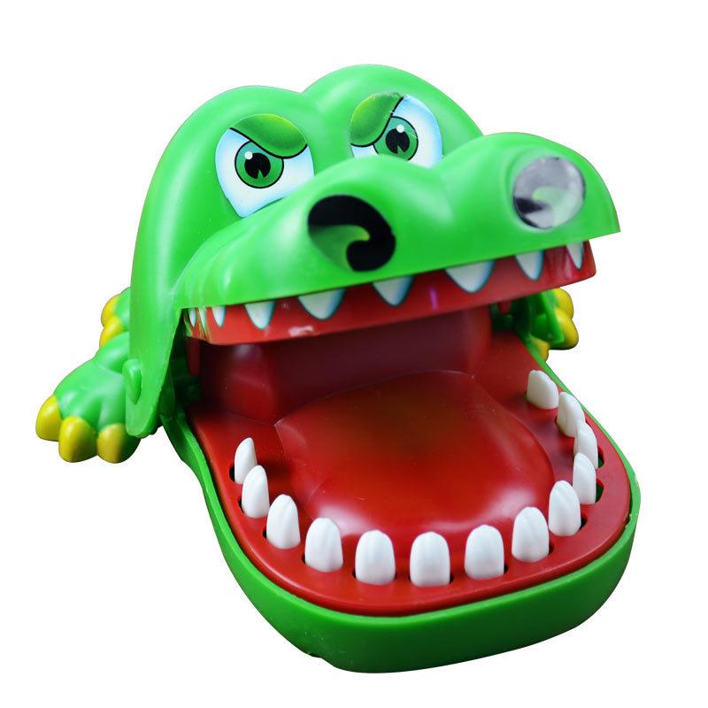 咬手指鳄鱼亲子减压玩具