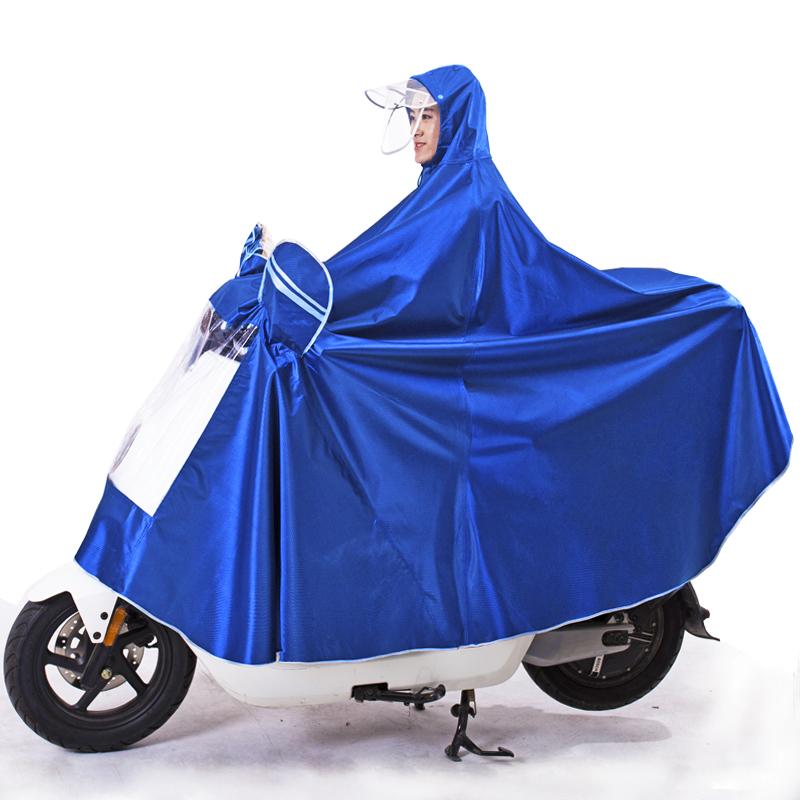 雨衣电动车雨披电瓶车加厚摩托自行车骑行成人单人男女士加大雨衣 thumbnail