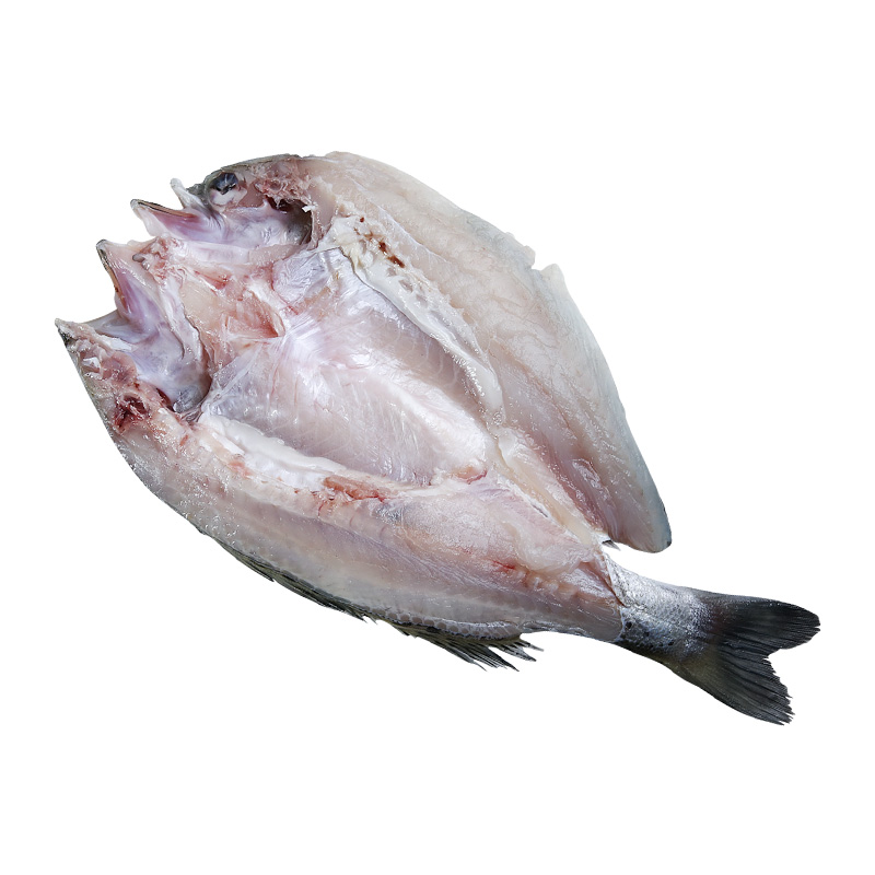 味库鲈鱼鲜活新鲜海鲈鱼冷冻大鲈鱼开背白蕉海鲜水产深海鱼3条装