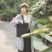 素年80005#新款女士包袋拉链单肩手提其他青年纯色时尚潮流车缝线