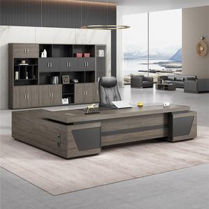 老板办公桌椅组合简约现代总裁主管经理大班台办公室单人桌子家具