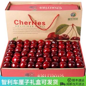 领10元券购买智利车厘子4jjjj礼盒装进口大樱桃