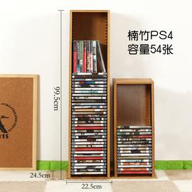巨阳CD架DVD收纳架 碟片架 ps4游戏光盘整理架 蓝光碟 黑胶碟片架图片