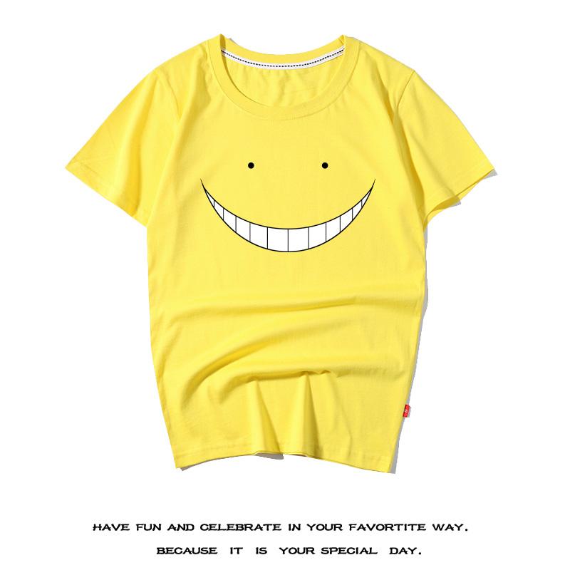 纯棉日常阴笑杀老师学生短袖t同人动漫体恤百搭户外潮暗杀教室T恤