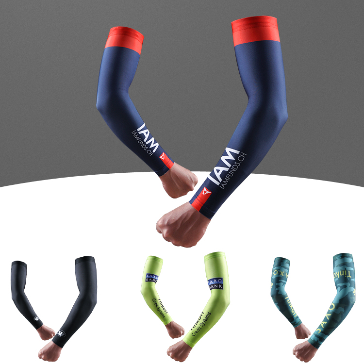 Sky cycling sunscreen sleeve hand sleeve mens and womens summer outdoor cycling ice silk SLEEVE arm cool through