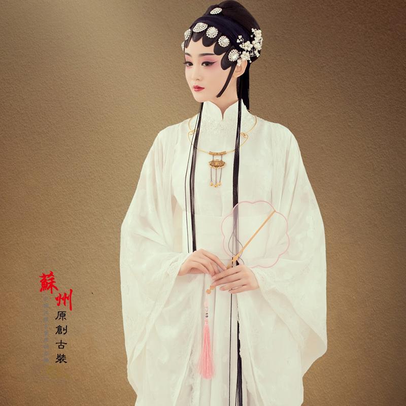 古装女影楼摄影写真主题戏曲中国风花旦画意舞蹈演出服装清扬婉兮