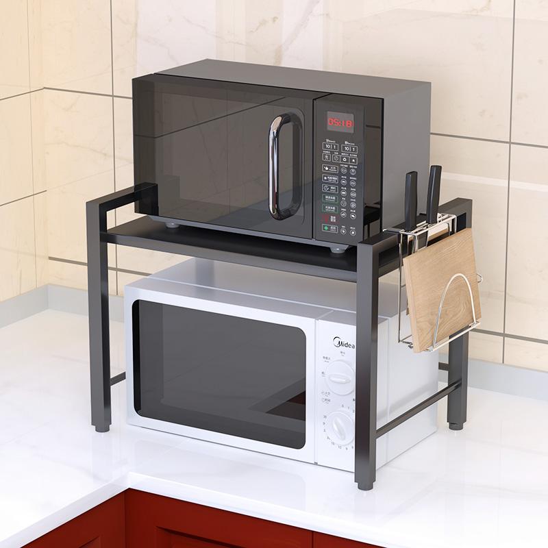 微波炉1层加粗放落地用品烤箱架子18.00元包邮