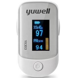 鱼跃指夹式血氧仪血氧饱和度检测仪指脉氧仪心率监测仪301图片