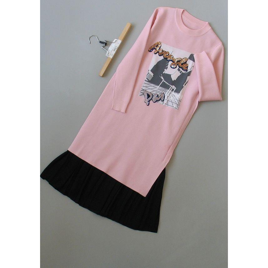 能用香[C129-700]专柜品牌正品羊毛女裙子女装两件套连衣裙0.95KG