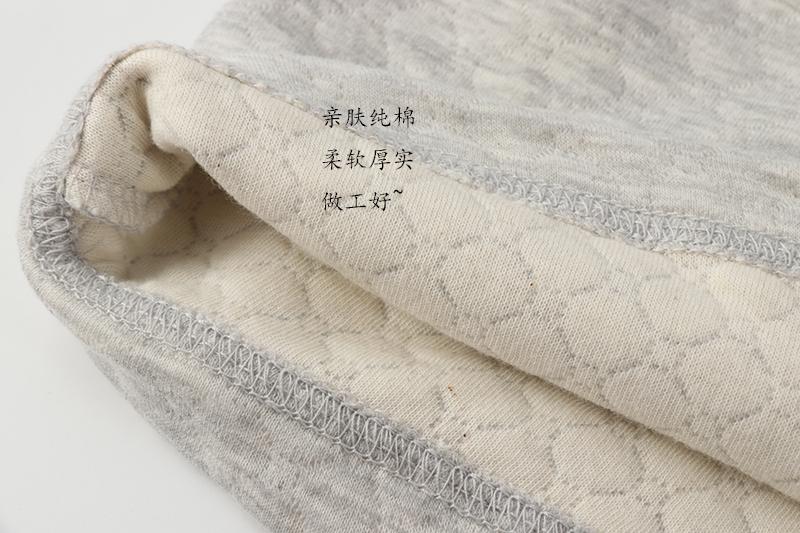 情侣款男士女士针织棉质空气层三保暖长袖长裤内衣家居服睡衣秋冬