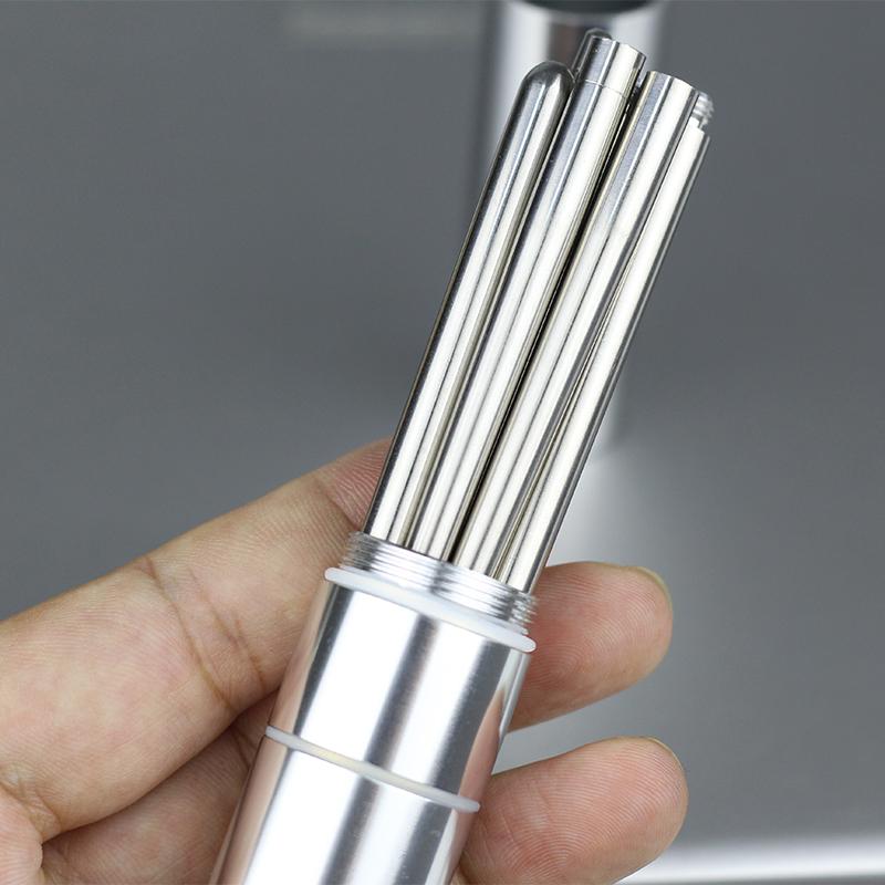 (用20.6元券)304不锈钢筷子旅行学生折叠筷子