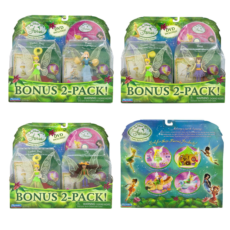 迪士尼Fairies Bell精灵仙子小叮当仙女娃娃和Bess Lily rain套装