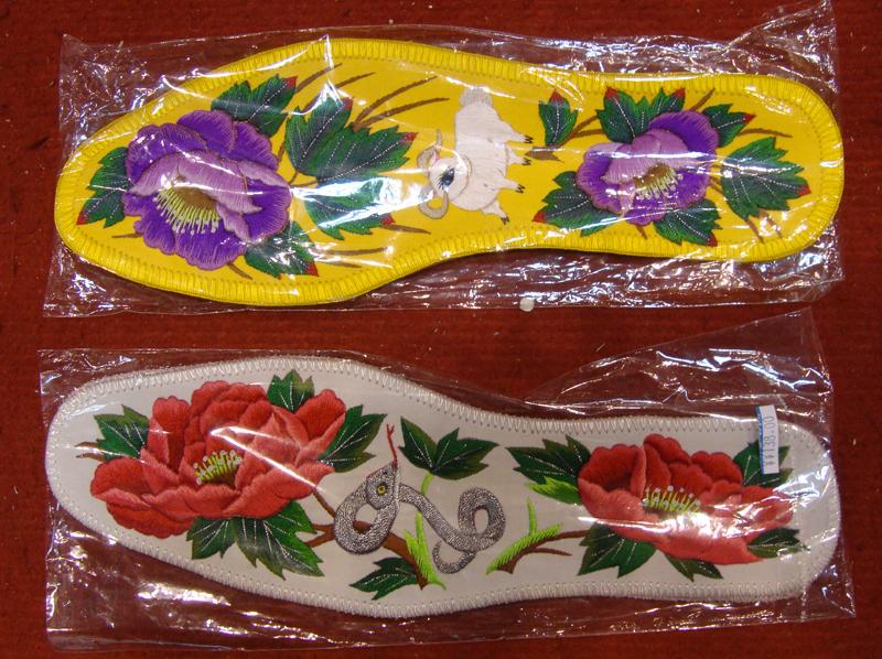 绣花鞋垫《十二生肖》 工艺婚礼鞋垫 纯手工平针 礼品