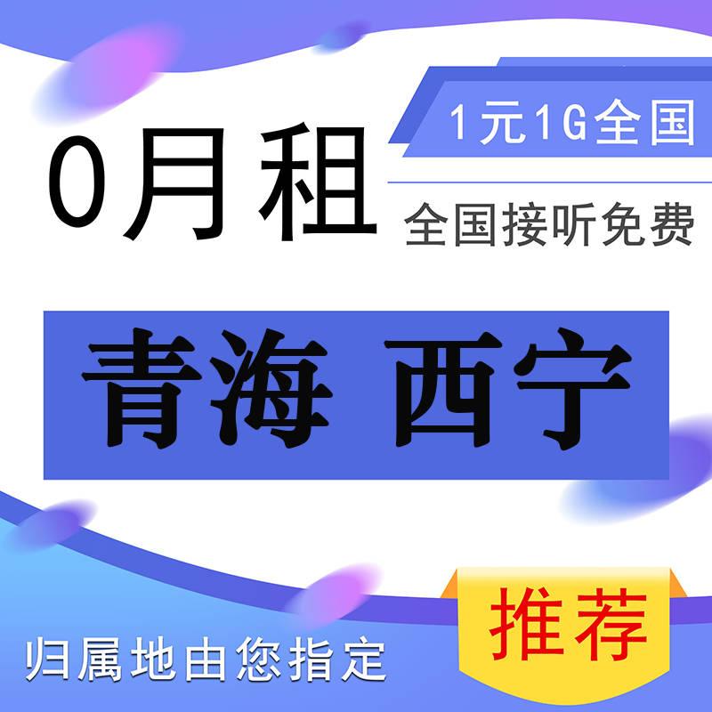 青海省西宁电话卡通话王无限打超长多语音王本地电信中国移动联通